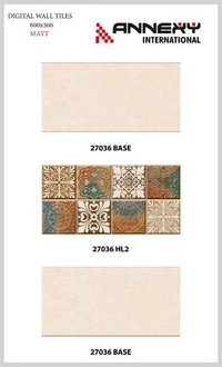 300X600 Matt Finished Designer Wall Tiles