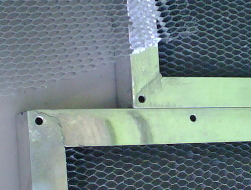 Honeycomb Vent panels for EMI & RFI