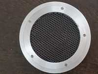 EMI Shielded honeycomb vent panels