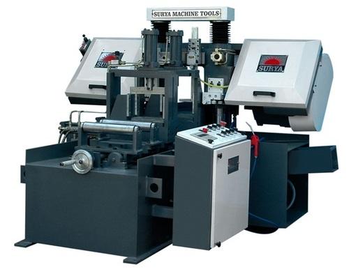 Double Coloum Fully CNC Bandsaw Machine