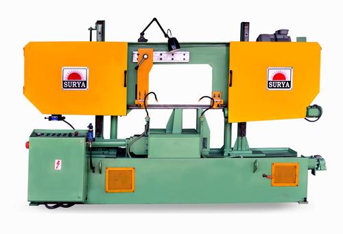 Double Coloum Semi Automatic Bandsaw Machine