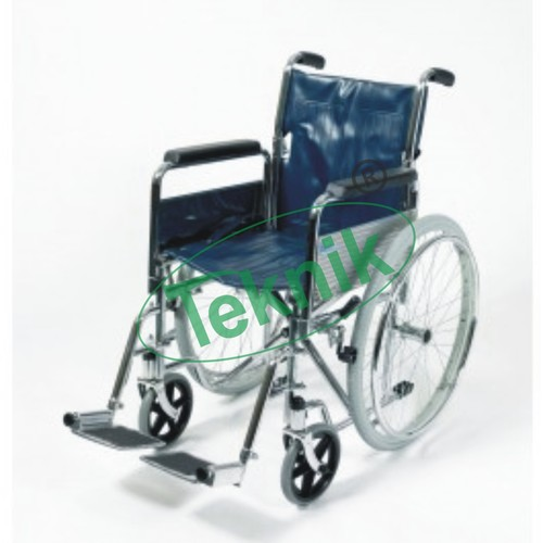 Foldable Wheelchair with Detachable Armrest