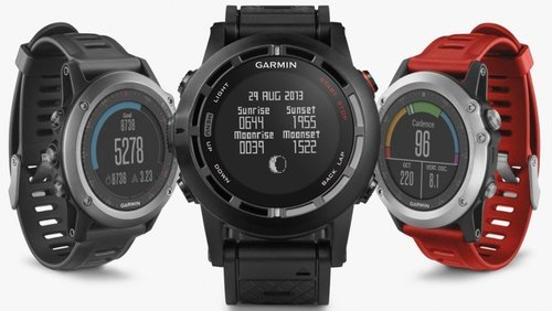 GARMIN FENIX 3 GREY WITH BLACK BAND
