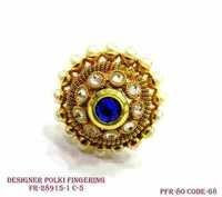 Polki Finger Ring