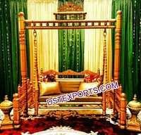 Indian Wedding Golden Swing Jhula