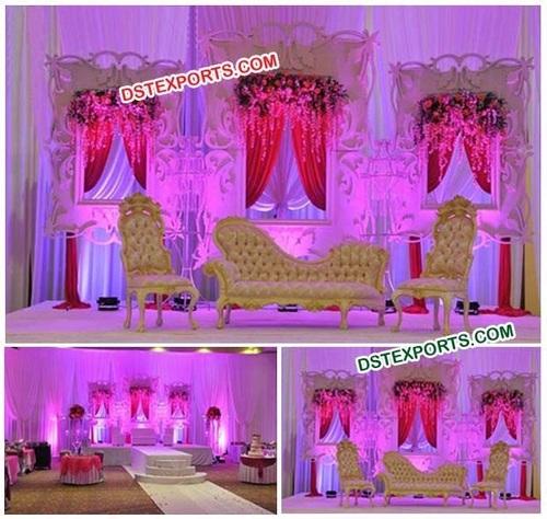 Wedding Stage Photo Frame Backdrop