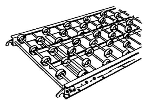 Three Wheel Conveyor