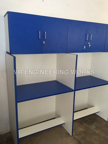 Office Workstation with Lockers