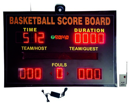 Basketball Scoreboard with Buzzer