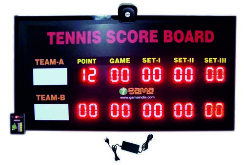 Tennis Scoreboard Set of 3 with Point & Game
