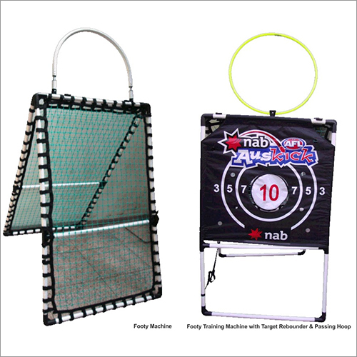 Footy Training Machine with Target, Rebounder