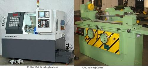 Rubber Roller Grinding Machine - REKHA ENGINEERING WORKS, Plot No
