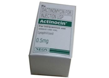 Actinocin Dactinomycin Vial Neon