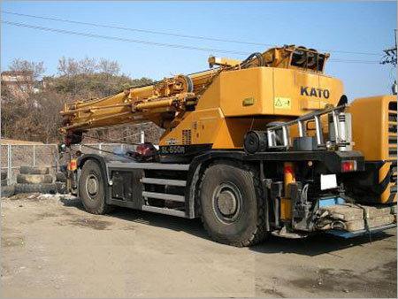 Rough Terrain Cranes Rental