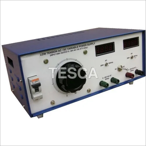 Low Tension AC/DC Variable Power Supply