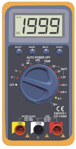 3 1/2 Digital Multimeter with Temperature (Auto Ranging)
