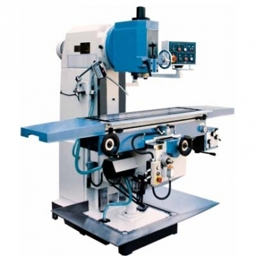 Milling Machine With Turret
