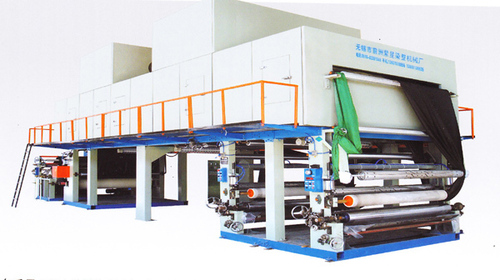 Two-Plate Roller Coating Machine