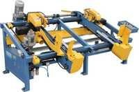 Wood Pallet Double End Trim Saw