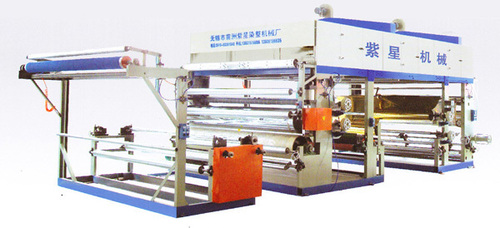 Automatic Fabric Bronzing Machine