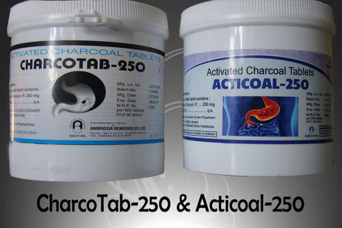 Activated Charcoal Tablets 250Mg
