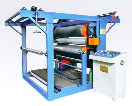 Three-Rolling Embossing Machine