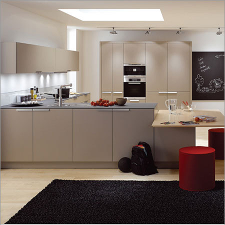 Interior Modular Kitchen Cabinet