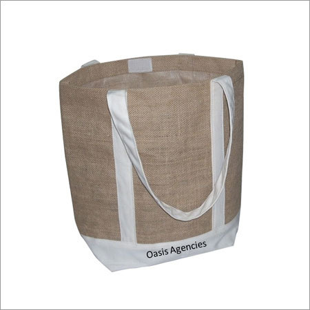 Jute Cotton Combo bag