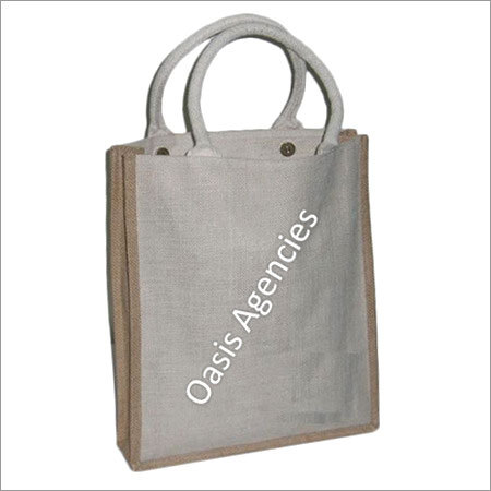 Cotton Tape Handle Jute Bags