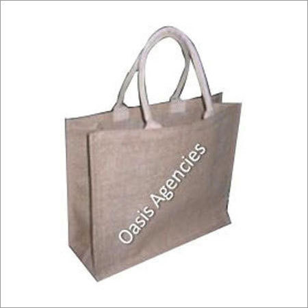 Soft Rope Handle Jute Bag