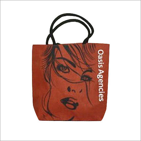 Ladies Face Printed Fashion Bag