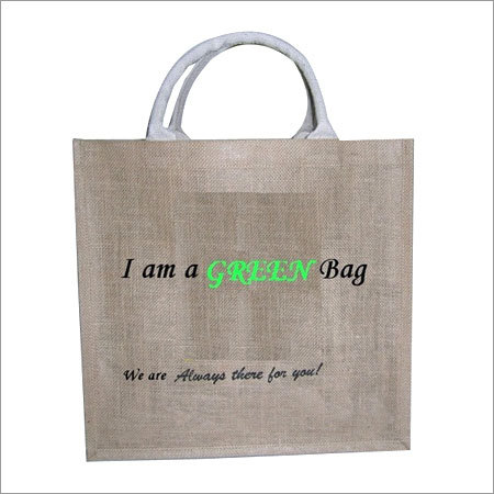 Green Jute Bag