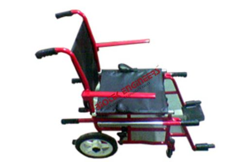 Wheelchair with Lifting Arrangement