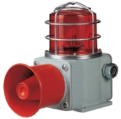 Heavy Duty Warning Light with Siren