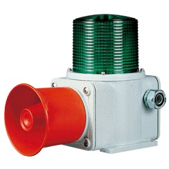 Heavy Duty Double Face Siren With Green LED Light