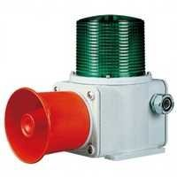 Heavy Duty Flashing Light with Siren