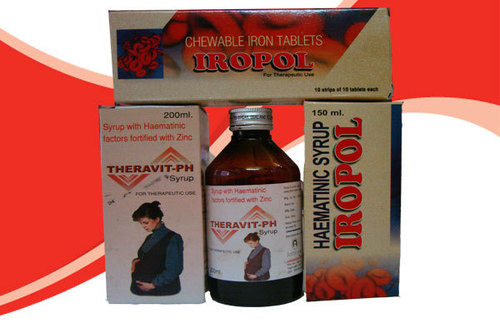 Vitamins Ferric Ammonium Citrate Syrup