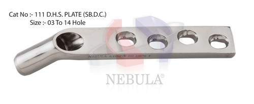 Manufacturer of Orthopedic dhs plate