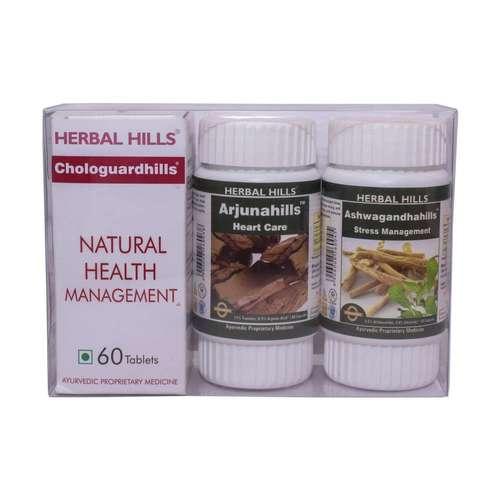 Ayurvedic Medicine for Heart Health - Chologuardhills Combination Pack