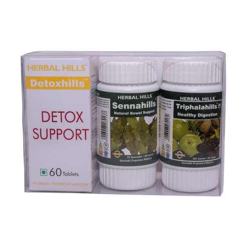Ayurvedic Medicine For  Detoxification Of Body - Detoxhills Combination Pack Certifications: Iso 22000-2005 Gmp Usda Voca Halal