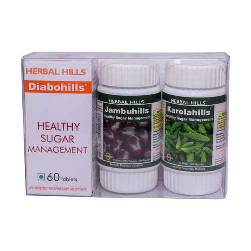 Diabohills Kit - Medicine for Liver, Diabetes & Healthy Blood Sugar