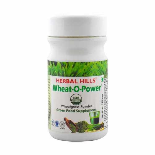 Wheatgrass Wheat-o-power 100 Powder - Blood Sugar management & Blood Purifier