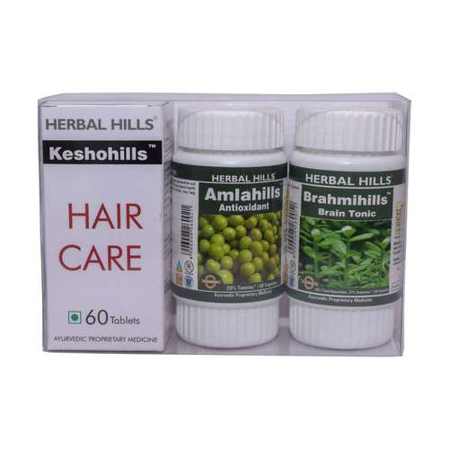 Ayurvedic Hair Care Products for Healthy Hair G- Keshohills Combination P