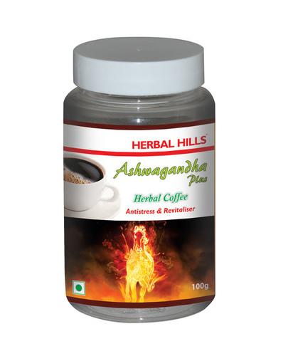 Ashwagandha Plus Herbal Coffee - For Energy & Stamina