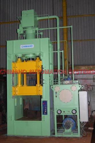 160 Ton Capacity Close Frame Hydraulic Press