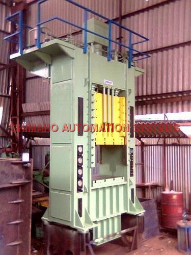 Triple Action Hydraulic Press