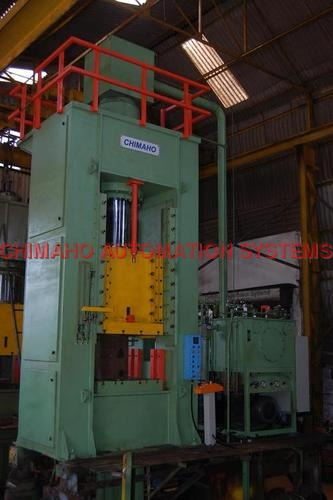 600 Ton Close Frame Hydraulic Press