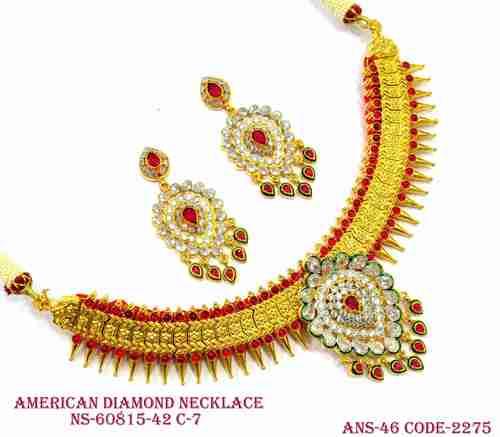 Designer A.D Necklace