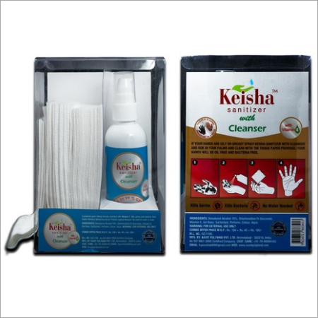 100ml Hand Sanitizer with Cleanser(COMBO PACK OF 3)
