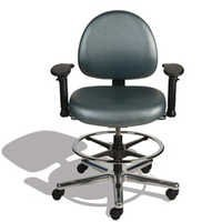 ESD Chair with adjustable Arms